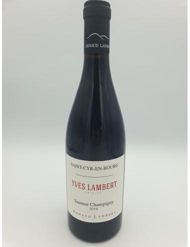 SAUMUR CHAMPIGNY  YVES LAMBERT  A.LAMBERT bio