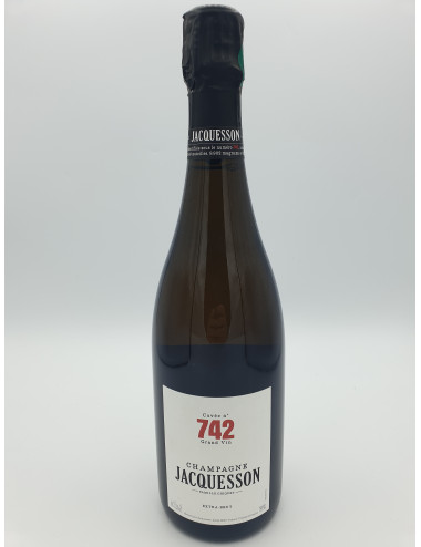 CHAMPAGNE JACQUESSON CUVEE N° 742