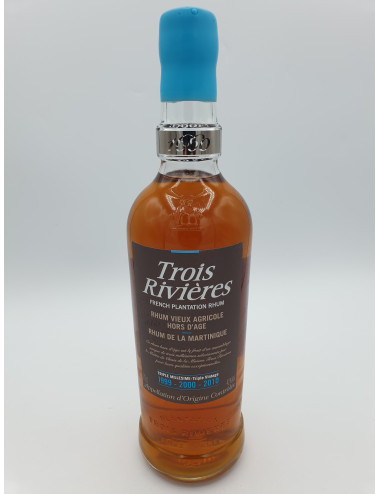 RHUM TROIS RIVIERES TRIPLE 1999- 2000-2010 70CL 42°