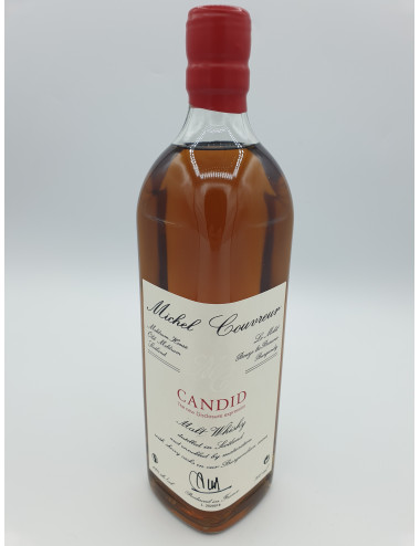 CANDID MALT WHISKY  49°  M. COUVREUR