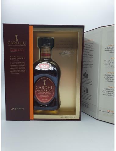 COFFRET CARDHU AMBER ROCK 40°