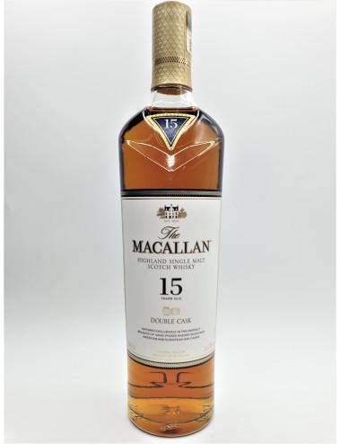 MACALLAN 15 ANS DOUBLE CASK...